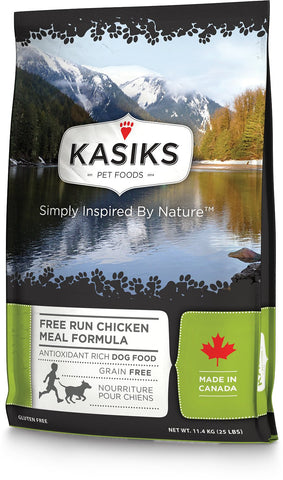 KASIKS™ Free Run Chicken Meal Formula for Dogs