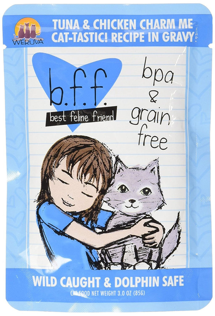 BFF-Best Feline Friends Grain Free Tuna & Chicken Charm Me Recipe for Cats