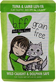 BFF-Best Feline Friends Grain Free Tuna & Lamb Luv Ya Recipe for Cats