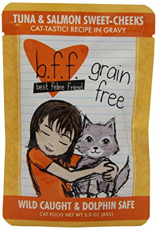BFF-Best Feline Friends Grain Free Tuna & Salmon Sweet Cheeks Recipe for Cats