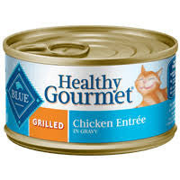 BLUE Healthy Gourmet® Grilled Chicken Entree for Adult Cats