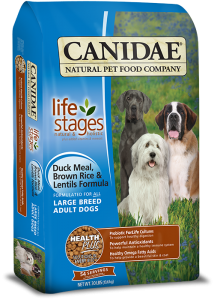 CANIDAE® Life Stages Large Breed Duck Meal, Brown Rice & Lentils Dry Formula for Dogs