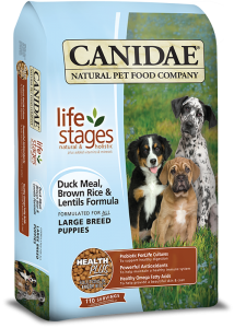 CANIDAE® Life Stages Large Breed Puppy Duck Meal, Brown Rice & Lentils Dry Formula
