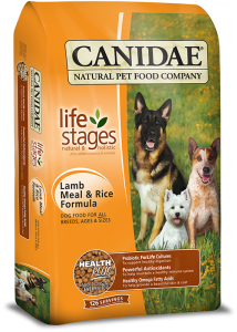 CANIDAE® Life Stages - Lamb Meal & Rice Dry Formula for Dogs