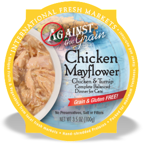 AGAINST THE GRAIN™ Chicken Mayflower with Turnip Dinner for Cats