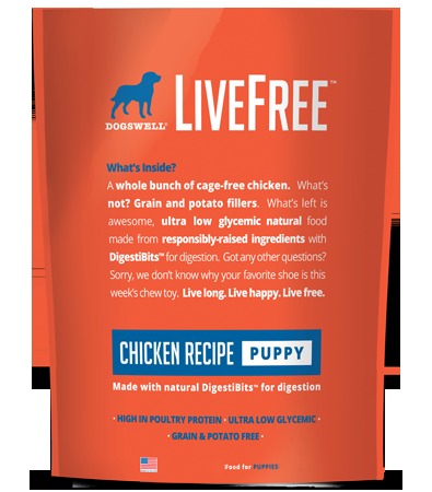 DOGSWELL® LiveFree® Chicken Puppy Dry Food