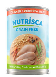 DOGSWELL® Nutrisca® Chicken & Chickpea Stew Canned Dog Food