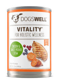 DOGSWELL® Vitality® Chicken & Sweet Potato Stew Canned Dog Food