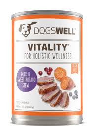 DOGSWELL® Vitality® Duck & Sweet Potato Stew Canned Dog Food
