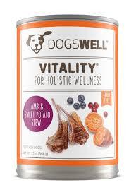 DOGSWELL® Vitality® Lamb & Sweet Potato Stew Canned Dog Food