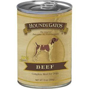 HOUND & GATOS® Beef Complete Meal Canned Dog Food