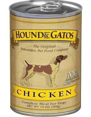HOUND & GATOS® Chicken Complete Meal Canned Dog Food