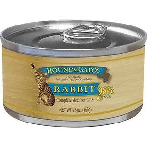 HOUND & GATOS® Rabbit Complete Meal Canned Cat Food