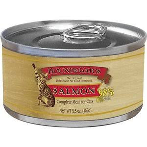 HOUND & GATOS® Salmon Complete Meal Canned Cat Food