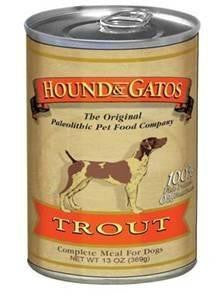 HOUND & GATOS® Trout Complete Meal Canned Dog Food