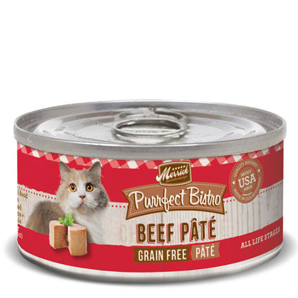 MERRICK® Purrfect Bistro™ Grain Free Beef Pate Canned Cat Food