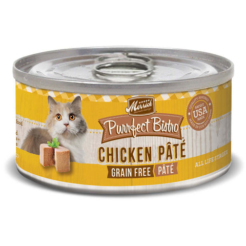 MERRICK® Purrfect Bistro™ Grain Free Chicken Pate Canned Cat Food