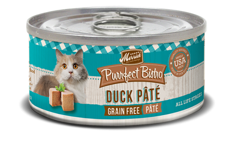 MERRICK® Purrfect Bistro™ Grain Free Duck Pate Canned Cat Food