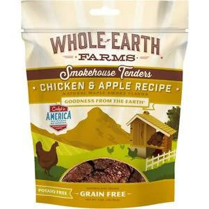 Merrick Whole Earth Farms Signature Tenders Chicken & Apple Treats