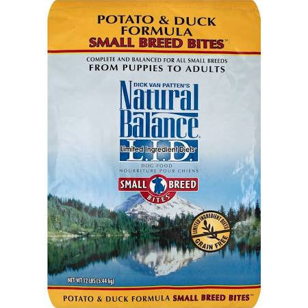NATURAL BALANCE® L.I.D. Limited Ingredient Diets® Potato & Duck Small Breed Bites® Formula Dry Dog Food