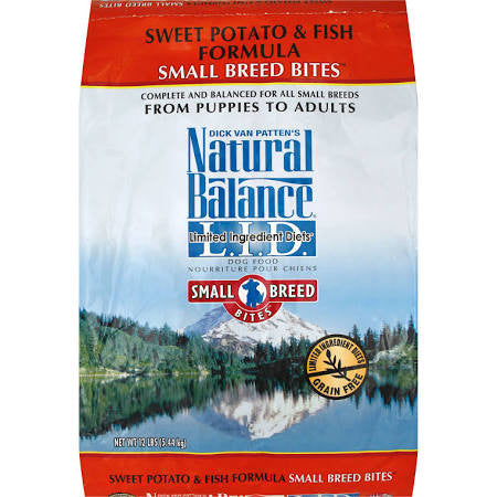 NATURAL BALANCE® L.I.D. Limited Ingredient Diets® Sweet Potato & Fish Small Breed Bites® Formula Dry Dog Food