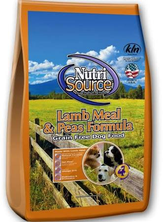 NUTRISOURCE® Grain Free Lamb Meal Formula Dry Dog Food