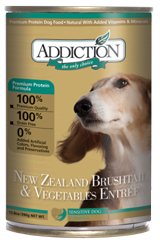 ADDICTION Grain Free New Zealand Brushtail & Vegetables Entree for Dogs