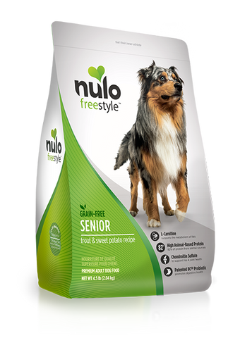 Nulo Grain-free Senior Trout Dry Dog Food