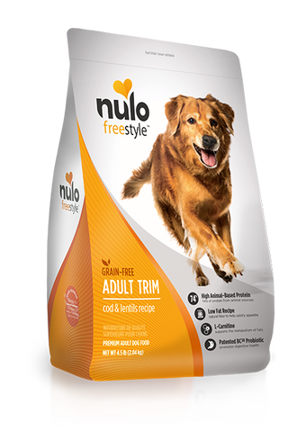 Nulo Grain-free Weight Management Cod Dry Dog Food