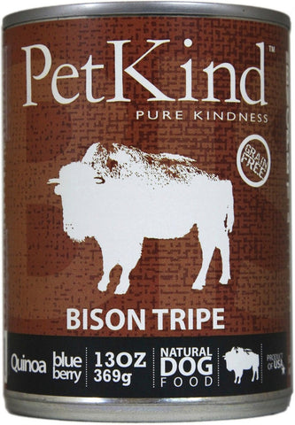 PETKIND® Bison Tripe Formula Canned Dog Food