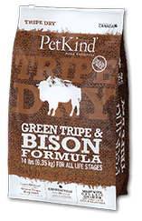 PETKIND® Green Tripe & Bison Formula for Dry Dog Food