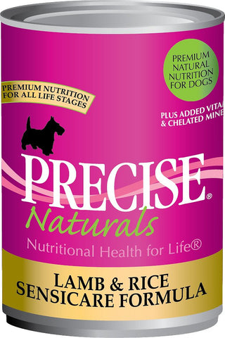 PRECISE NATURALS® Lamb & Rice Seniscare Formula Canned Dog Food