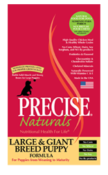 PRECISE NATURALS® Large & Giant Breed Puppy Dry Food