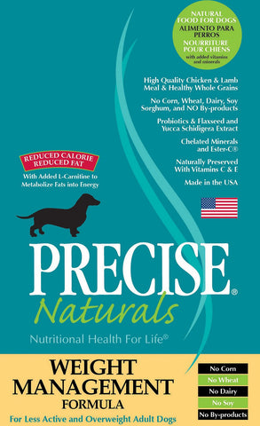 PRECISE NATURALS® Weight Management Formula Dry Dog Food