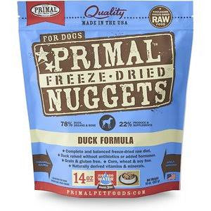 PRIMAL™ Freeze-Dried Canine Duck Formula