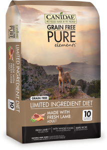 CANIDAE® Grain Free PURE ELEMENTS® with Fresh Lamb Dry Formula for Dogs
