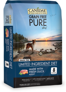CANIDAE® Grain Free PURE SKY® with Fresh Duck Dry Formula for Dogs