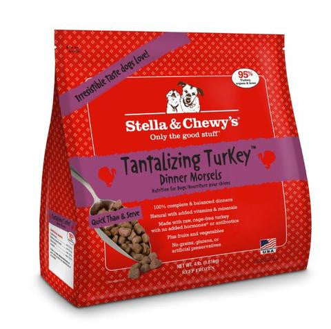 STELLA & CHEWY'S® Raw Tantalizing Turkey Dinner Morsels for Dogs