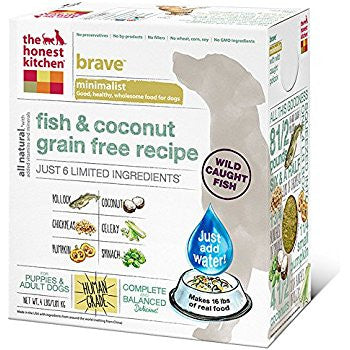 THE HONEST KITCHEN® Brave™ Grain Free Fish & Coconut Recipe Dry Dog Food