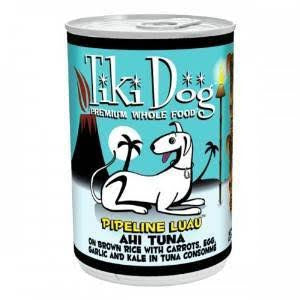 TIKI DOG® PIPELINE LUAU™ Ahi Tuna on Brown Rice in Tuna Consommé Canned Dog Food