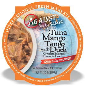 AGAINST THE GRAIN™ Tuna Mango Tango with Duck Dinner for Cats
