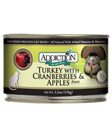ADDICTION Grain Free Turkey with Cranberries & Apples Entree for Cats