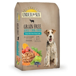 UNDER THE SUN™ Grain Free Adult Formula with Farm-Raised Lamb Dry Dog Food