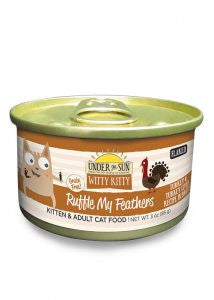 CANIDAE Under the Sun Ruffle My Feathers Turkey Canned Cat Food