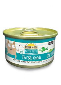 CANIDAE Under the Sun Witty Kitty The Big Catch Tuna & Sardine Canned Cat Food