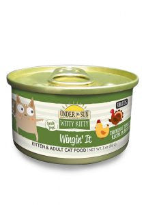 CANIDAE Under the Sun Witty Kitty Wingin' It Chicken & Turkey Canned Cat Food