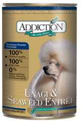 ADDICTION Grain Free Unagi & Seaweed Entree for Dogs