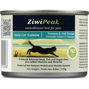 ZIWIPEAK™ Daily Cat Venison & Fish Cuisine Canned Food