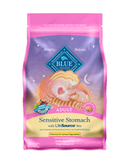 BLUE® Sensitive Stomach Chicken & Brown Rice Recipe for Adult Cats