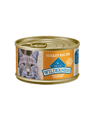 BLUE Wilderness® Grain-Free Turkey Recipe for Adult Cats